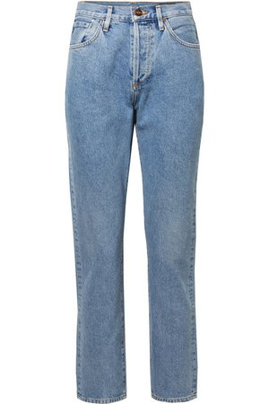 Goldsign | The Benefit high-rise straight-leg jeans | NET-A-PORTER.COM