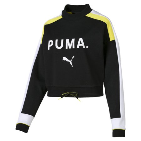 Sweat Chase pour femme | Cotton Black | PUMA Shoes | PUMA France