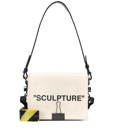Binder Clip canvas shoulder bag
