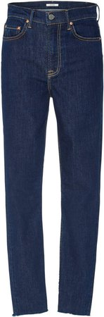 Denim Kendall High-Rise Skinny Jeans