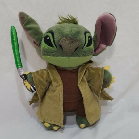 Star Wars Stitch As Yoda