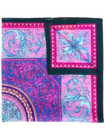 Versace Baroque Print Scarf - Farfetch