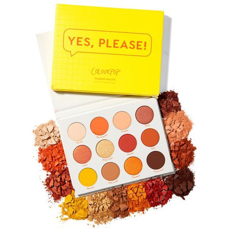 Yes, Please! Warm Eyeshadow Palette   ColourPop