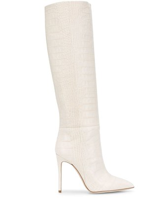 Paris Texas Pointed Knee Length Boots - Farfetch