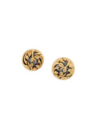 Kasun London Pearl Studded Earrings - Farfetch