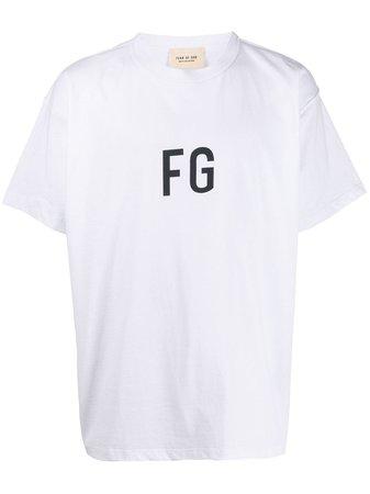 Fear Of God Camiseta Con Monograma - Farfetch