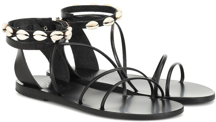 Exclusive to Mytheresa Meloivia leather sandals