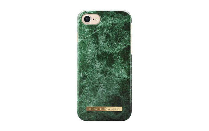 Coque iPhone 8 Green Marble - iDeal Of Sweden
