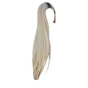 Long Ash Blonde Hair PNG