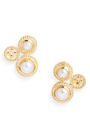 Anna Beck Mabé Pearl Cluster Stud Earrings (Nordstrom Exclusive)   Nordstrom