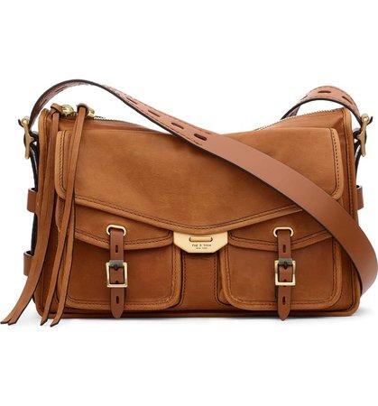 rag & bone Field Leather Messenger Bag   Nordstrom