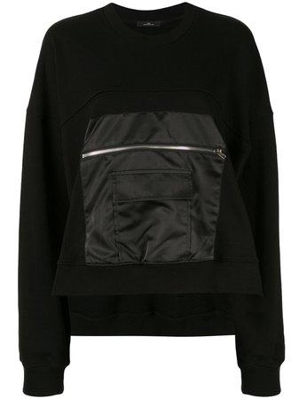 J Koo Zipped-Patch Sweatshirt   Farfetch.com