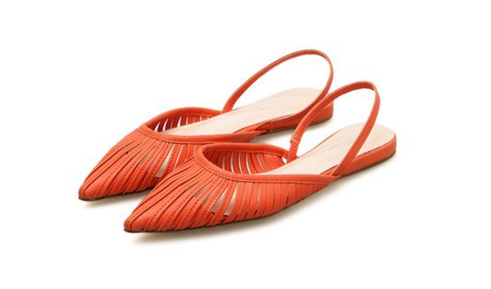 Cut-Out Flat Sling-Back Pumps (3 Colors) – Mary Cheffer