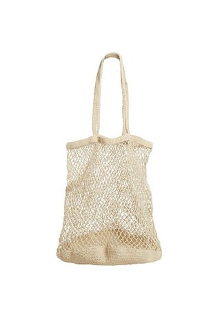 MANGO Handmade net bag