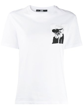 Karl Lagerfeld Karl Legend Pocket T-shirt - Farfetch