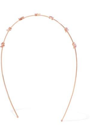 Suzanne Kalan | 18-karat rose gold sapphire and diamond headband | NET-A-PORTER.COM