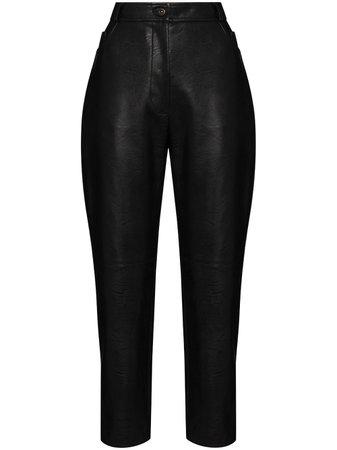 Stella McCartney Pantalon Crop Hailey - Farfetch