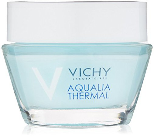 Amazon.com: Vichy Aqualia Thermal Night Spa with Hyaluronic Acid Replenishing Anti-Fatigue Night Cream and Face Mask, 0.5 Fl. Oz.: Luxury Beauty