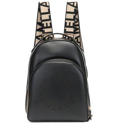 Logo Faux-Leather Backpack - Stella McCartney | Mytheresa