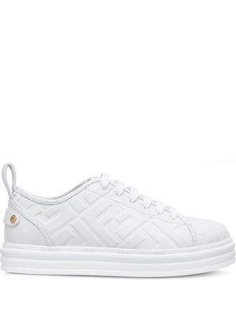 Fendi FF Embossed Sneakers - Farfetch