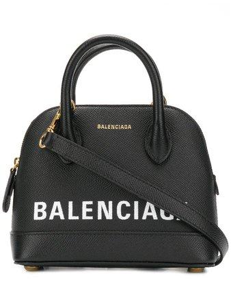 Shop black Balenciaga Ville top handle bag XXS with Express Delivery - Farfetch