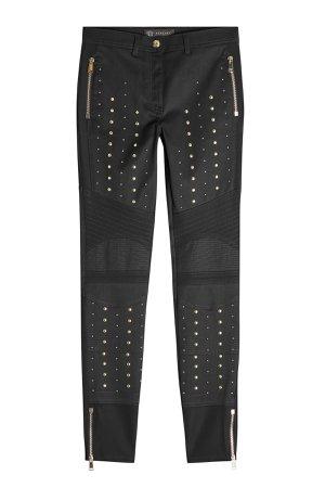 Stud-Embellished Skinny Jeans Gr. 29