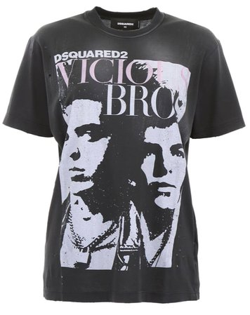 Dsquared2 Vicious Bros T-Shirt
