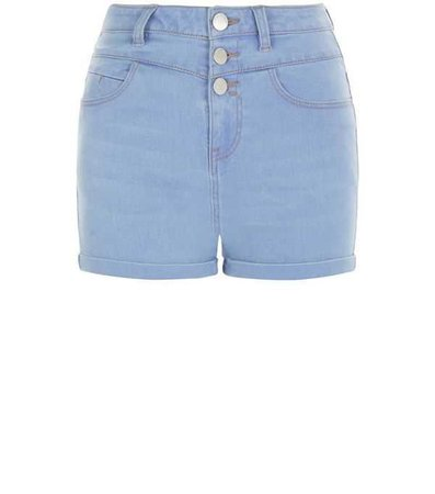 baby blue high waisted shorts - Google Search