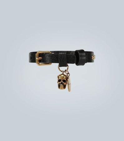 Leather Studded Bracelet | Alexander McQueen - Mytheresa