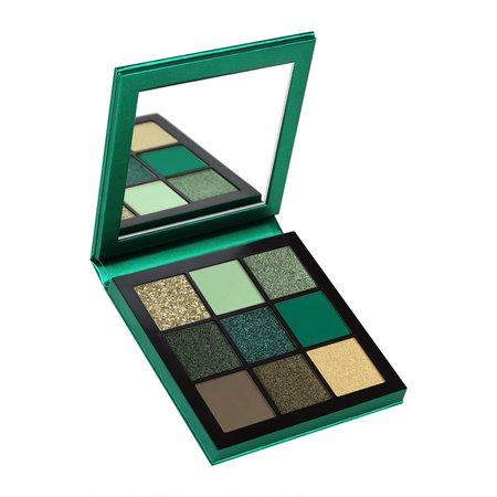 Huda Beauty Obsessions Precious Stones Eyeshadow Palette Emerald 10g - Feelunique