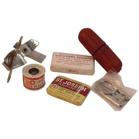 1960s First Aid Kit : SS Moore Antiques | Ruby Lane