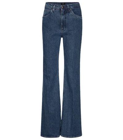 Etro - High-rise wide-leg jeans   Mytheresa