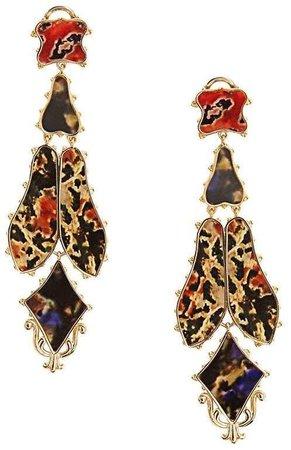 Burberry Drop Earrings