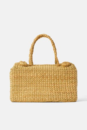 NATURAL PICNIC BASKET - View all-BAGS-WOMAN | ZARA United States