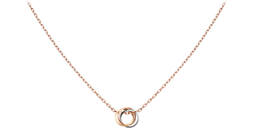CRB7224574 - Trinity necklace - White gold, yellow gold, pink gold - Cartier