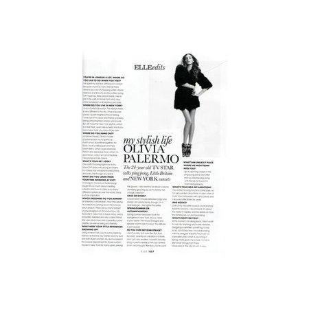 Olivia Palermo Article
