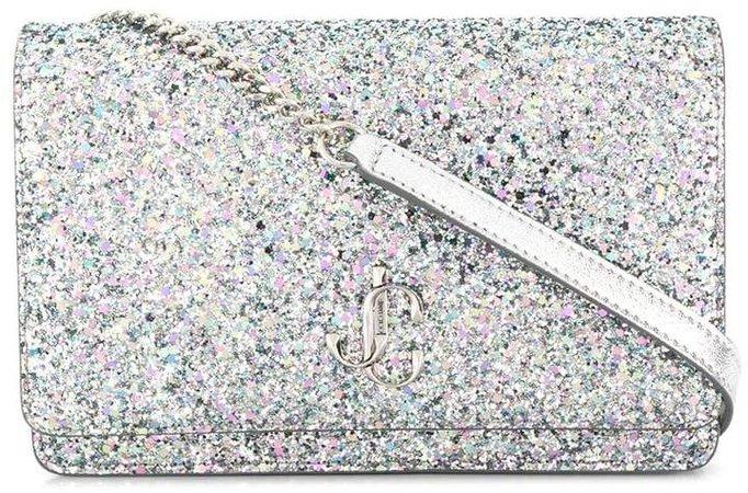 Palace glitter-effect shoulder bag
