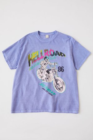 Hellroad Motocross Club Tee   Urban Outfitters