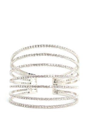 Bright Embrace Cuff - Silver
