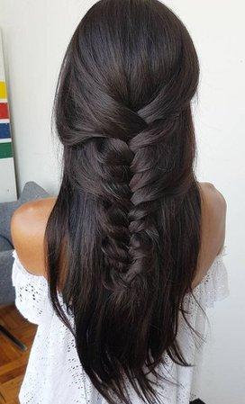 Dark Brown Hair