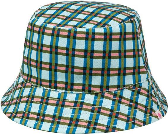 Emily Plaid Reversible Bucket Hat