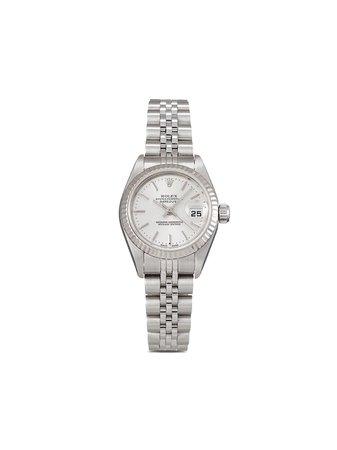 Rolex 2002 pre-owned Lady-Datejust 26mm - Farfetch