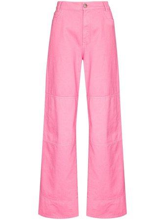 Raf Simons Workwear wide-leg Jeans - Farfetch