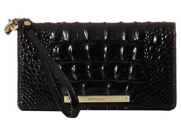 Brahmin - Debra (Black) Clutch Handbags