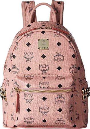 Amazon.com | MCM Women's Mini Stark Backpack, Soft Pink, One Size | Casual Daypacks