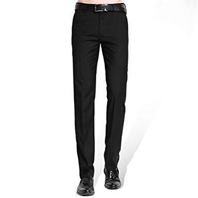 suite pants black