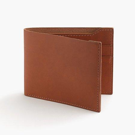 J.Crew: Billfold Wallet In Italian Leather For Men