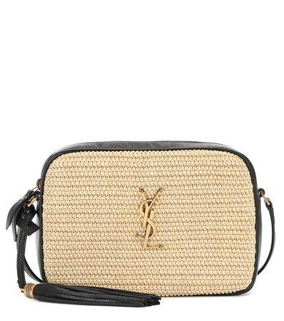 Lou Camera Raffia Cross-Body Bag | Saint Laurent - Mytheresa