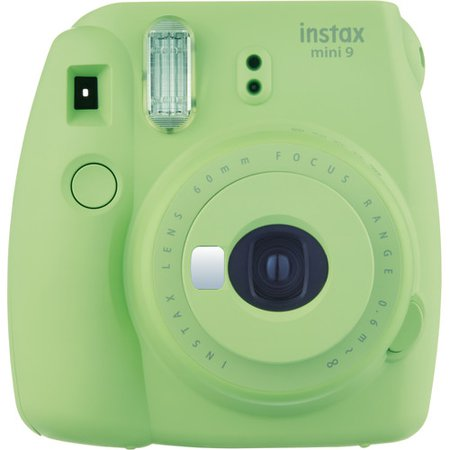 FUJIFILM INSTAX Mini 9 Instant Film Camera (Lime Green) 16550655