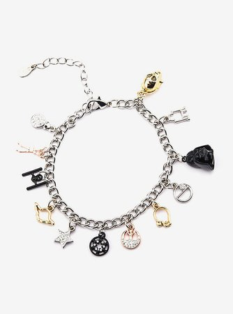 Star wars Stainless Steel Charm Bracelet